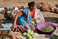 8 Street Vendor with Child